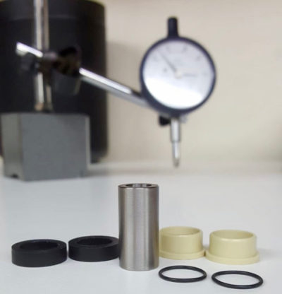 Titanium MTB Shock Mounting Hardware